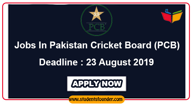 Jobs In Pakistan Cricket Board (PCB)