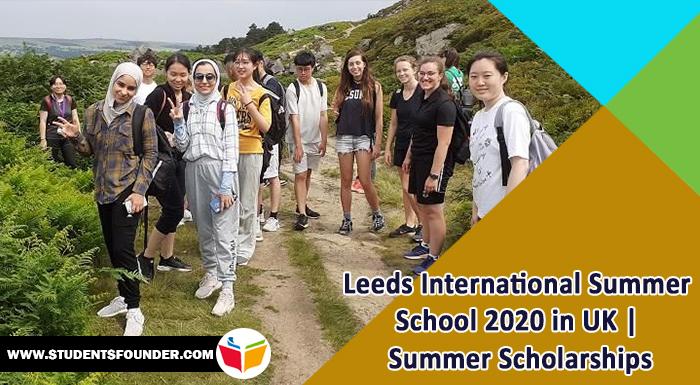 Leeds International Summer School 2020 in UK   Summer Scholarships