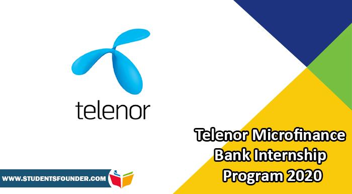 Telenor-Microfinance-Bank-Internship-Program-2020