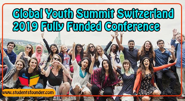 Global-Youth-Summit-Switzerland-2019-Fully-Funded