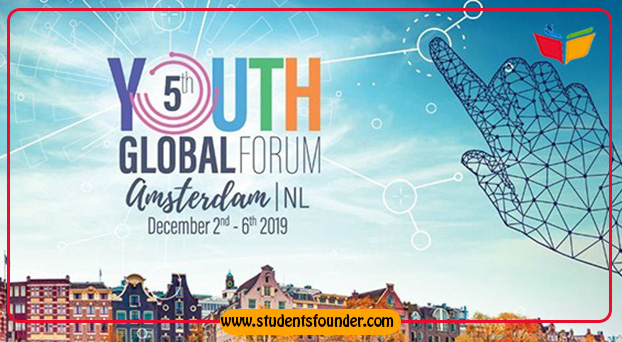 5TH YOUTH GLOBAL FORUM 2019 IN AMSTERDAM, NETHERLANDS – FULLY FUNDED