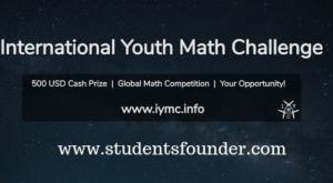 INTERNATIONAL YOUTH MATH CHALLENGE 2019