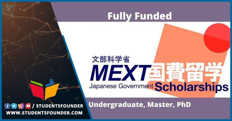 Fully Funded MEXT Japanese Government Scholarship For 2021
