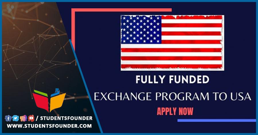 United States' Fully Funded Hurford Youth Leadership Exchange Program 2020